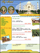 Tour Site Web Design, Website designs for Tour and Travel Segment